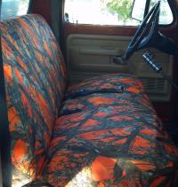 1975 1991 Ford Truck Regular Cab Front Solid Bench Seat