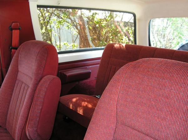 1989 1991 Ford Bronco Front High Back Bucket Seats With