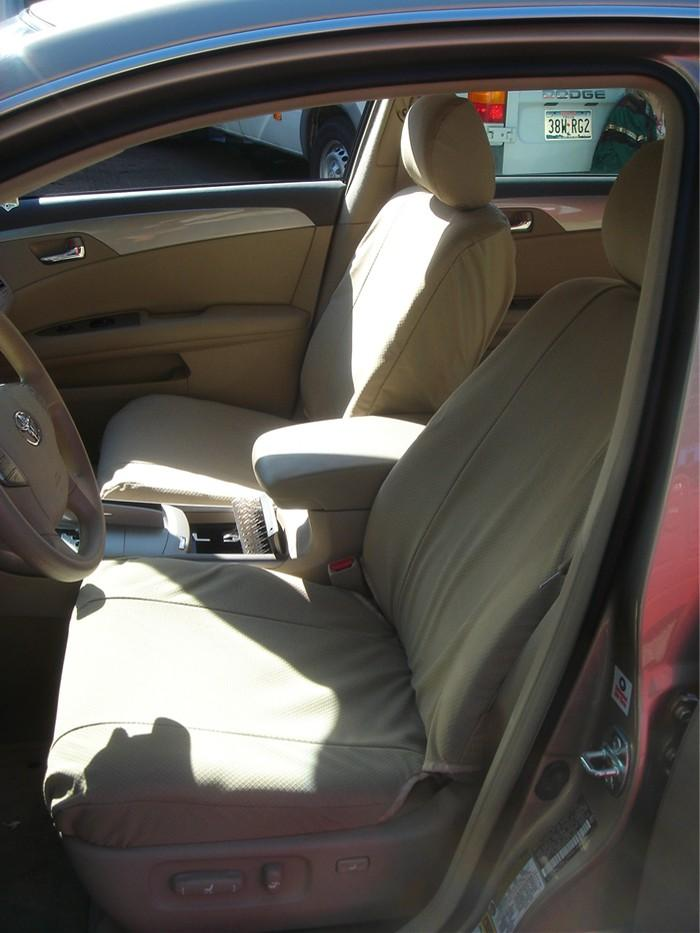 2005 2010 Toyota Avalon Front And Back Seat Set Front Buckets And Rear 60 40 Split Back Solid