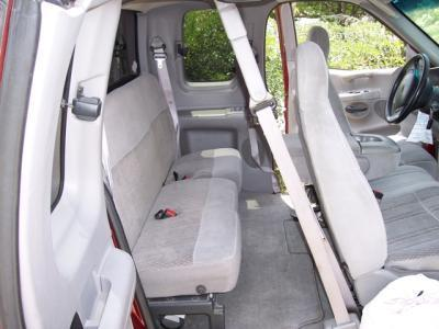1997 1998 Ford F150 Super Cab Rear Solid Backrest With 40 60 Split Seat