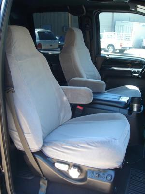 2002 2010 Ford F250 F550 Front High Back Bucket Seats With