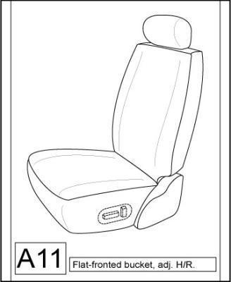 1985 toyota pickup bucket seats