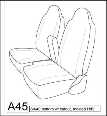Brilliant 1998 2001 Ford Ranger Xlt Xcab Front High Back 60 40 Split Pabps2019 Chair Design Images Pabps2019Com