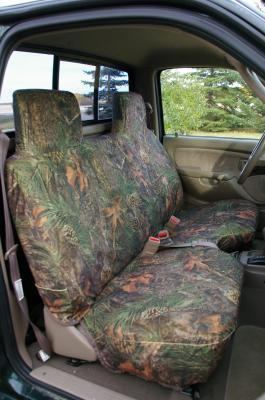 Gray Bench Seat Covers