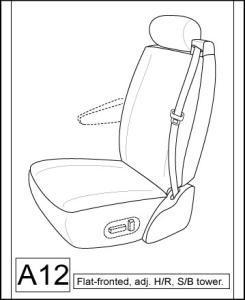 2003-2007 Chevy Suburban Front Captain Chairs With