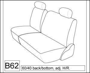1996 2002 nissan pathfinder se and xe rear 60 40 split bench seat 2000 Nissan Pathfinder 1996 1997 1998 1999 2000 2001 2002 nissan pathfinder 2 5