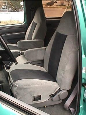 1992 1996 Ford Bronco High Back Bucket Seats With 1