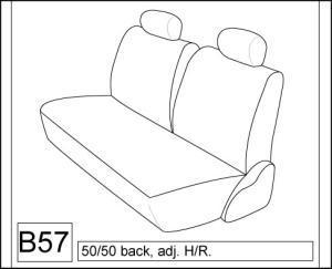 1992 1997 Ford Truck X Cab Exact Fit Seat Covers For Front Solid