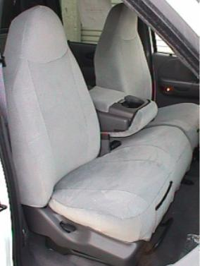 2000 2001 Ford F150 Regular And Xcab High Back 40 60 Split Bench Seat With Molded Headrests And