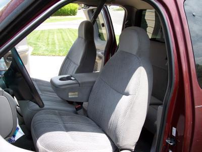 1997 1999 Ford F150 High Back 40 60 Split Seat With Molded Headrests And Opening