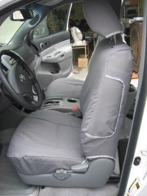 Tan Toyota Tacoma >> 2009-2014 Toyota Tacoma SR5 Front Bucket Seats with Side Impact Airbags in Seats | Durafit ...