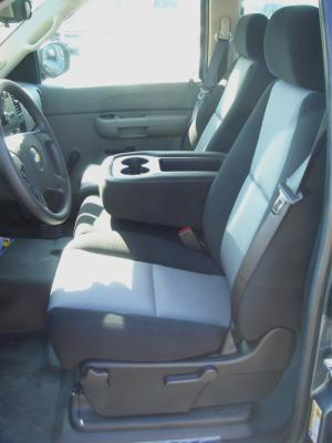 2007 2013 Chevy Silverado Suburban Tahoe Ls And Gmc Sierra 40 20 40 Split Seat With Open Tray