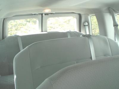 2008 2013 Ford E150 And E350 Van Rear 4 Passenger Bench