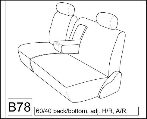 2007 2013 Toyota Tundra Crew Max Front And Back Seat Set