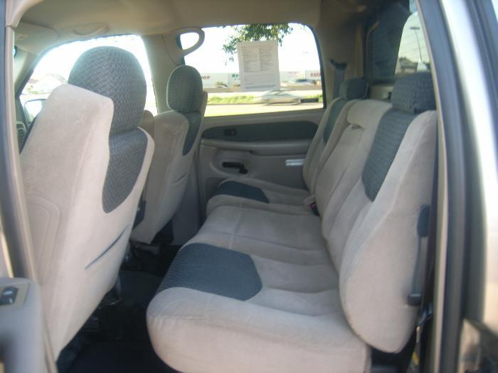 1999 2002 Chevy Avalanche Rear 60 40 Bench Seat With