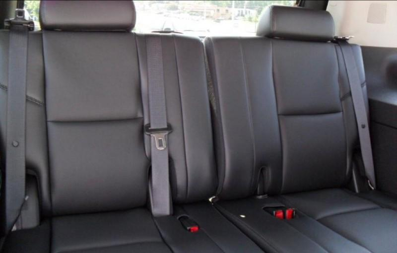 2007 2013 Chevy Suburban Tahoe And Gmc Yukon Exact Fit Seat Covers 3rd Row 50 50 Split Bench