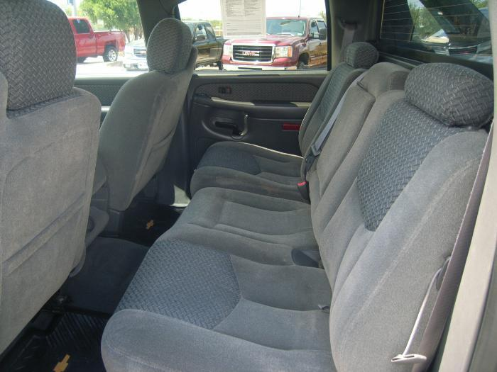 2003 2007 chevy avalanche rear 60 40 split seat with. Black Bedroom Furniture Sets. Home Design Ideas