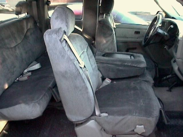 1999 2002 Chevy Truck 40 20 40 Split Seat With Integrated