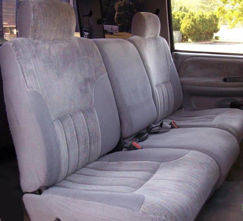 1994 2000 Dodge Ram Truck Slt 40 20 Split Seat With Squared Shoulders And Center Console Manual Controls
