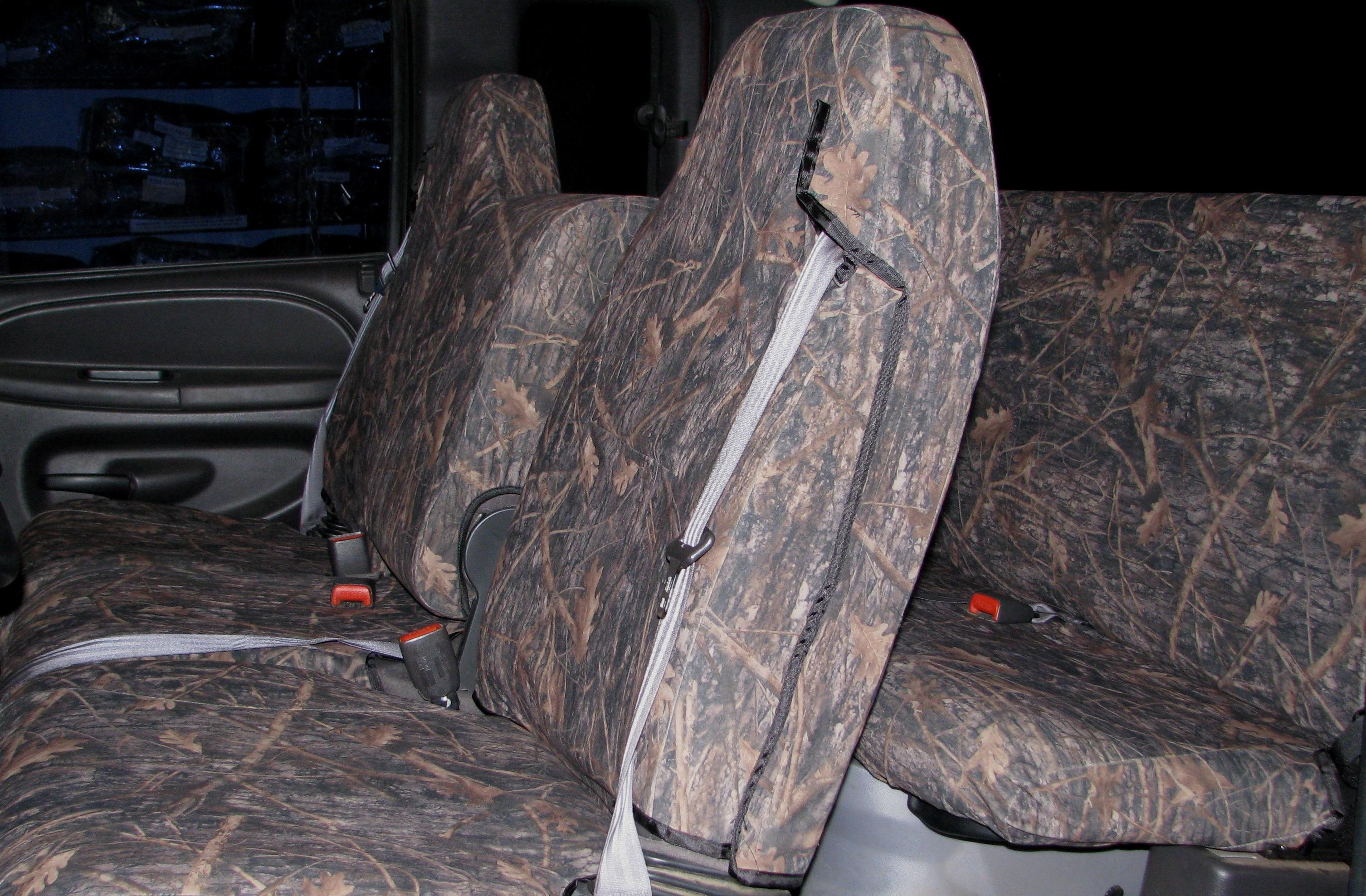 1998 2001 Dodge Ram Truck 40 20 40 Split Seat With Molded