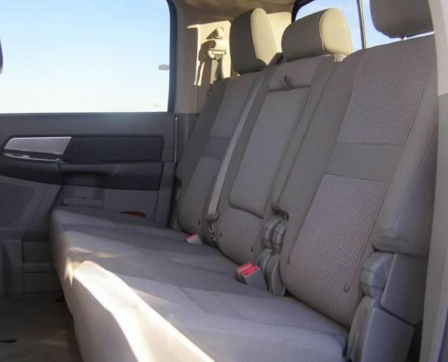 2006 2007 Dodge Ram Truck Mega Cab Rear 40 60 Split Bench