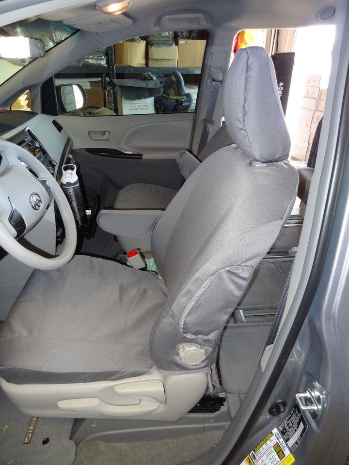 Toyota Sienna Seat Covers >> 2018 Toyota Sienna Le Seat Covers