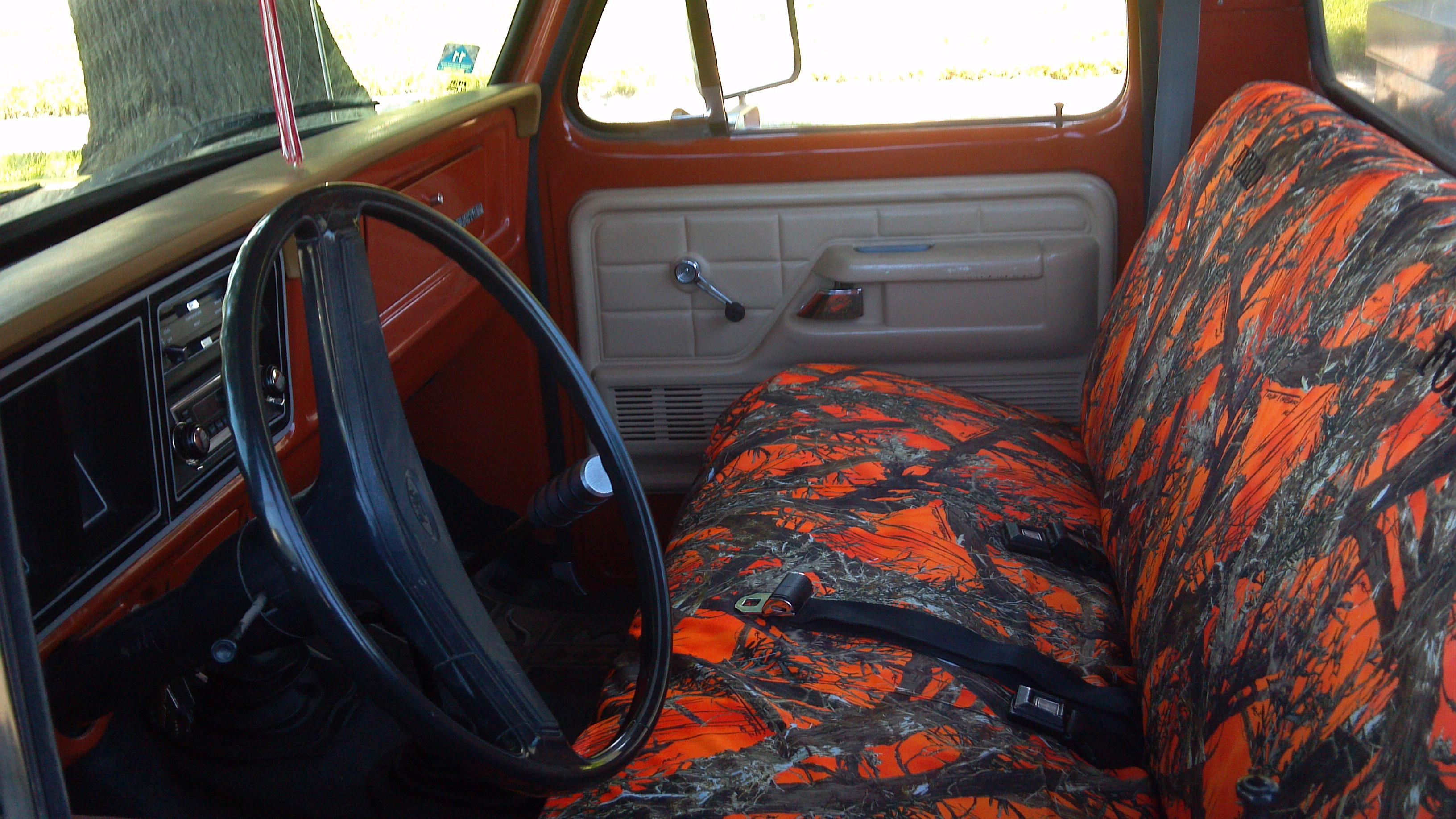 1975 1991 ford truck regular cab front solid bench seat durafit covers custom fit car covers. Black Bedroom Furniture Sets. Home Design Ideas