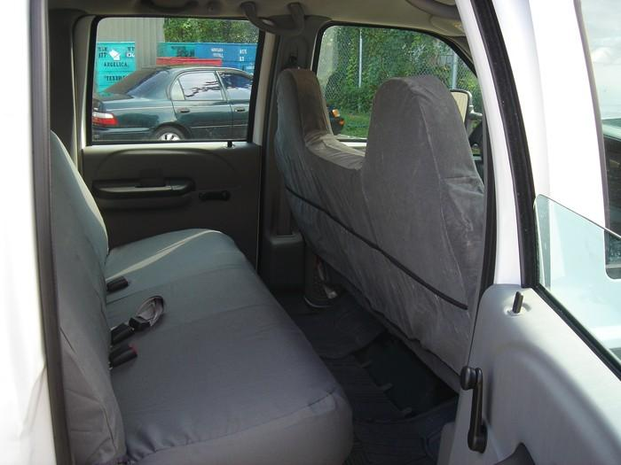 1999 2007 Ford F250 F550 Front And Rear Seat Set Front 40