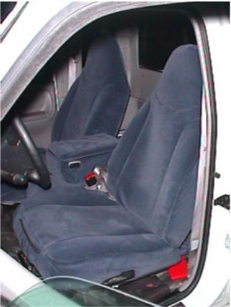 1998 2001 Ford Ranger 60 40 Split Bench With Molded