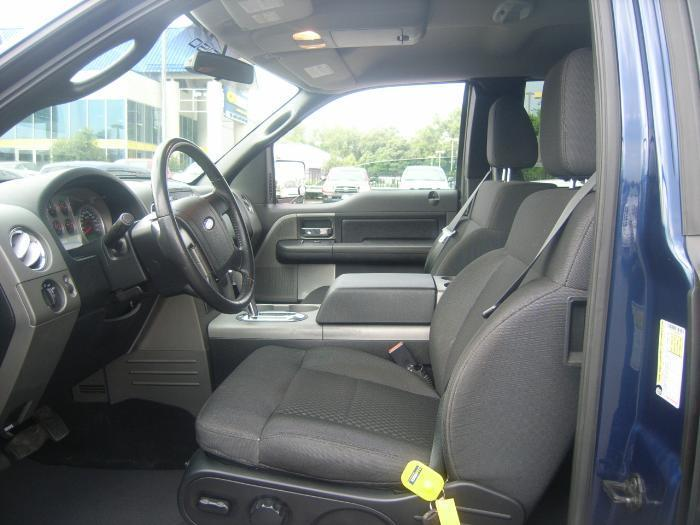 2004 2008 F150 Super Cab Front Low Back Bucket Seats With Adjustable Headrests And Integrated