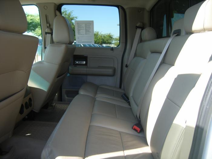 2004 2008 Ford F150 And Lincoln Mark Lt Crew Cab Rear Solid Back 60 40 Split Bottom Bench Seat