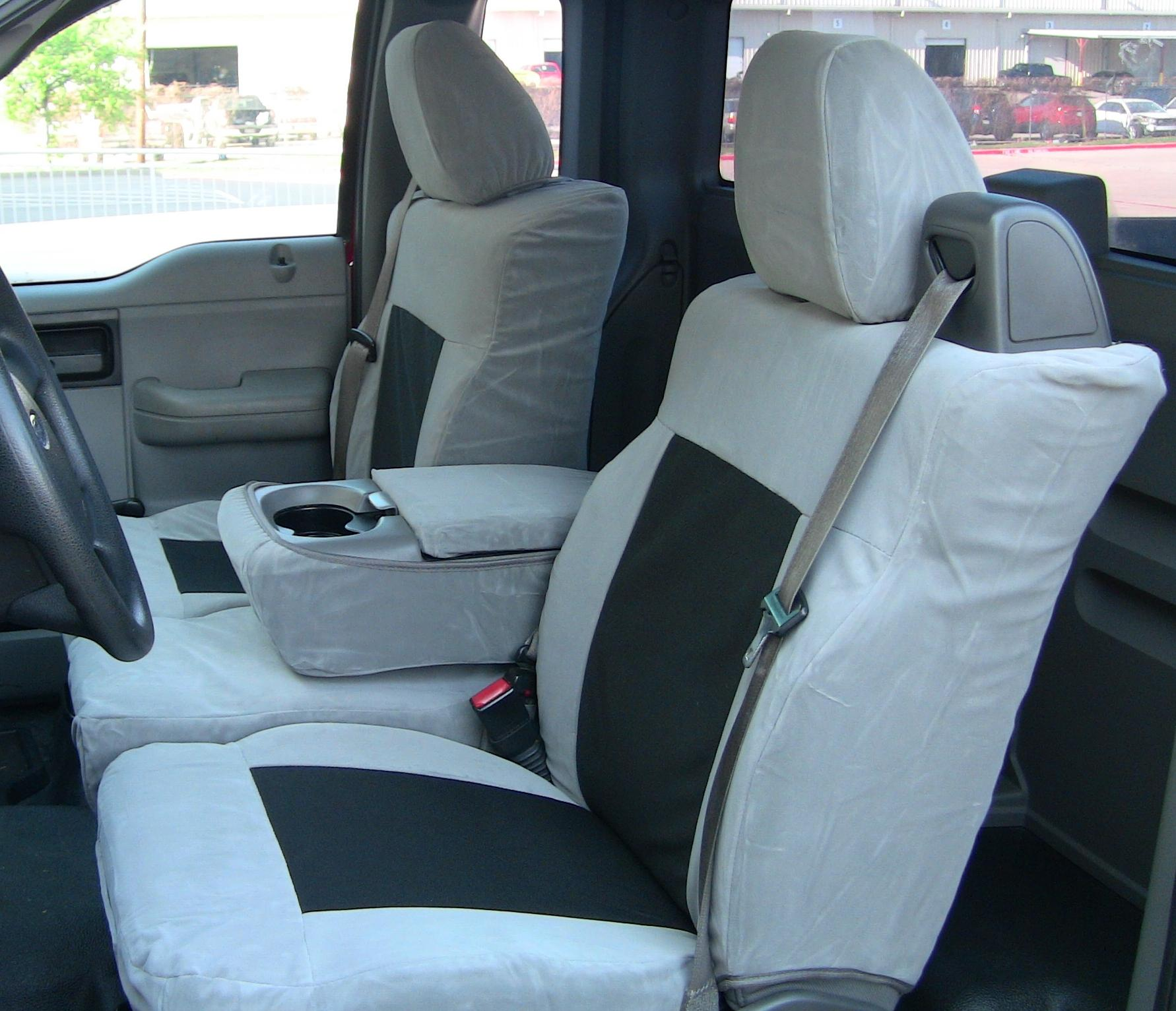 2004 2008 Ford F150 Xlt Front And Back Seat Set Front 40