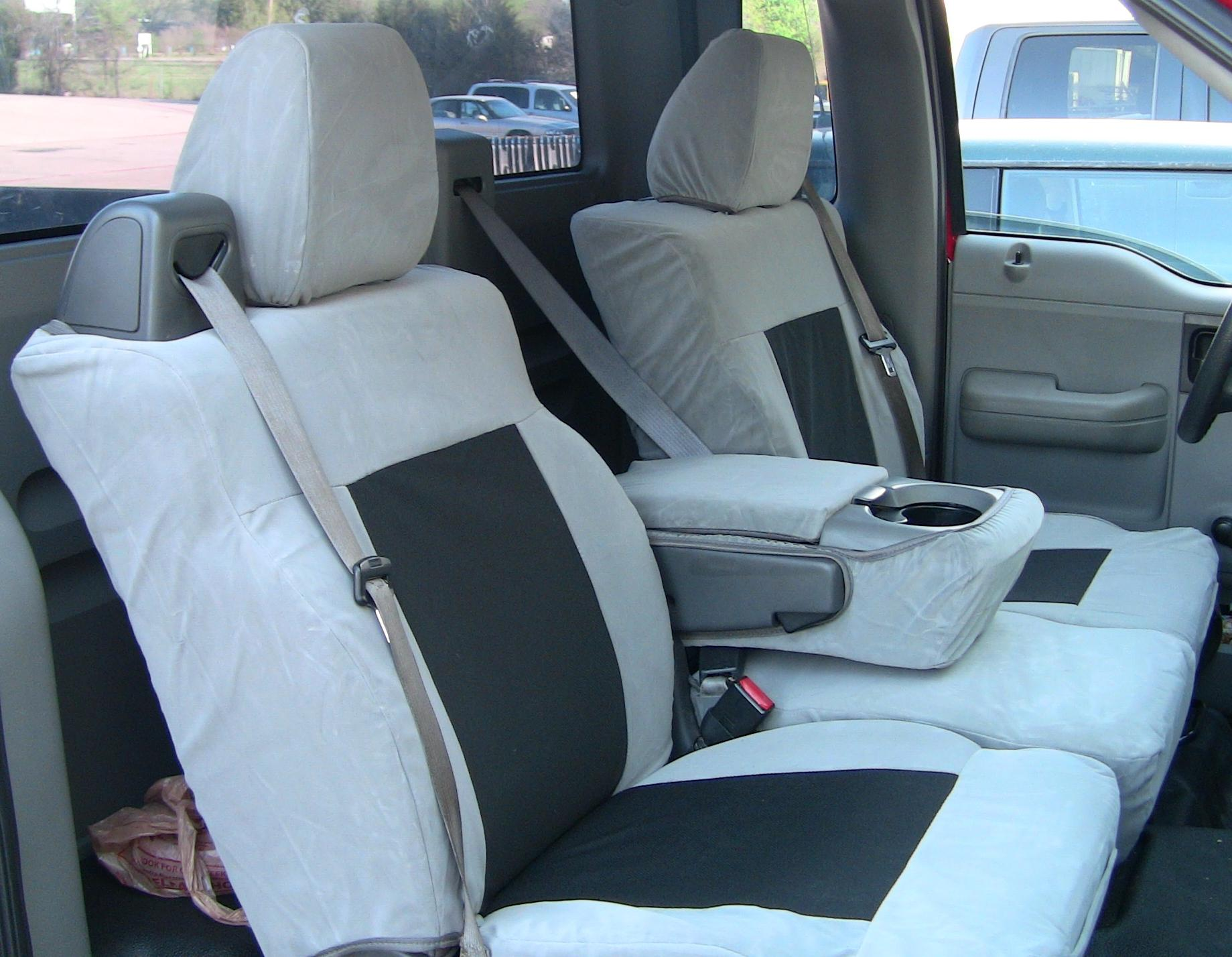 2004 2008 ford f150 xlt front and back seat set front 40 20 40