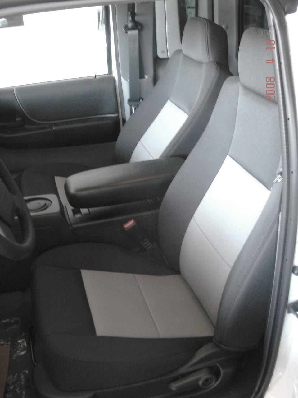 2004 2005 Ford Ranger Bucket Seats With Molded Headrests Durafit Covers Custom Fit Car