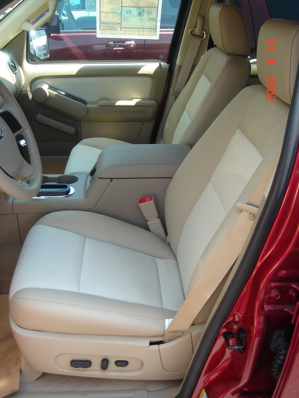 2006 2008 Ford Explorer 2 Row Vehicle Front And Back Seat