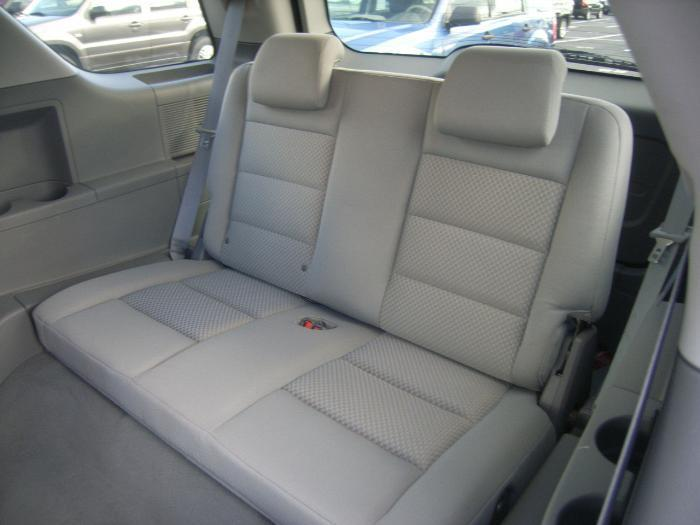 Toyota Highlander Seat Covers >> 2004-2007 Ford Freestyle 3rd Row Solid Bench Seat ...
