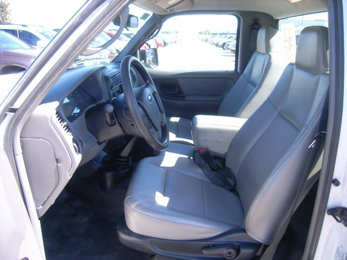 2006-2009 Ford Ranger XL Front 60/40 Split Bench Seat Exact Seat Covers & 2006-2009 Ford Ranger XL Front 60/40 Split Bench Seat with Solid ... markmcfarlin.com