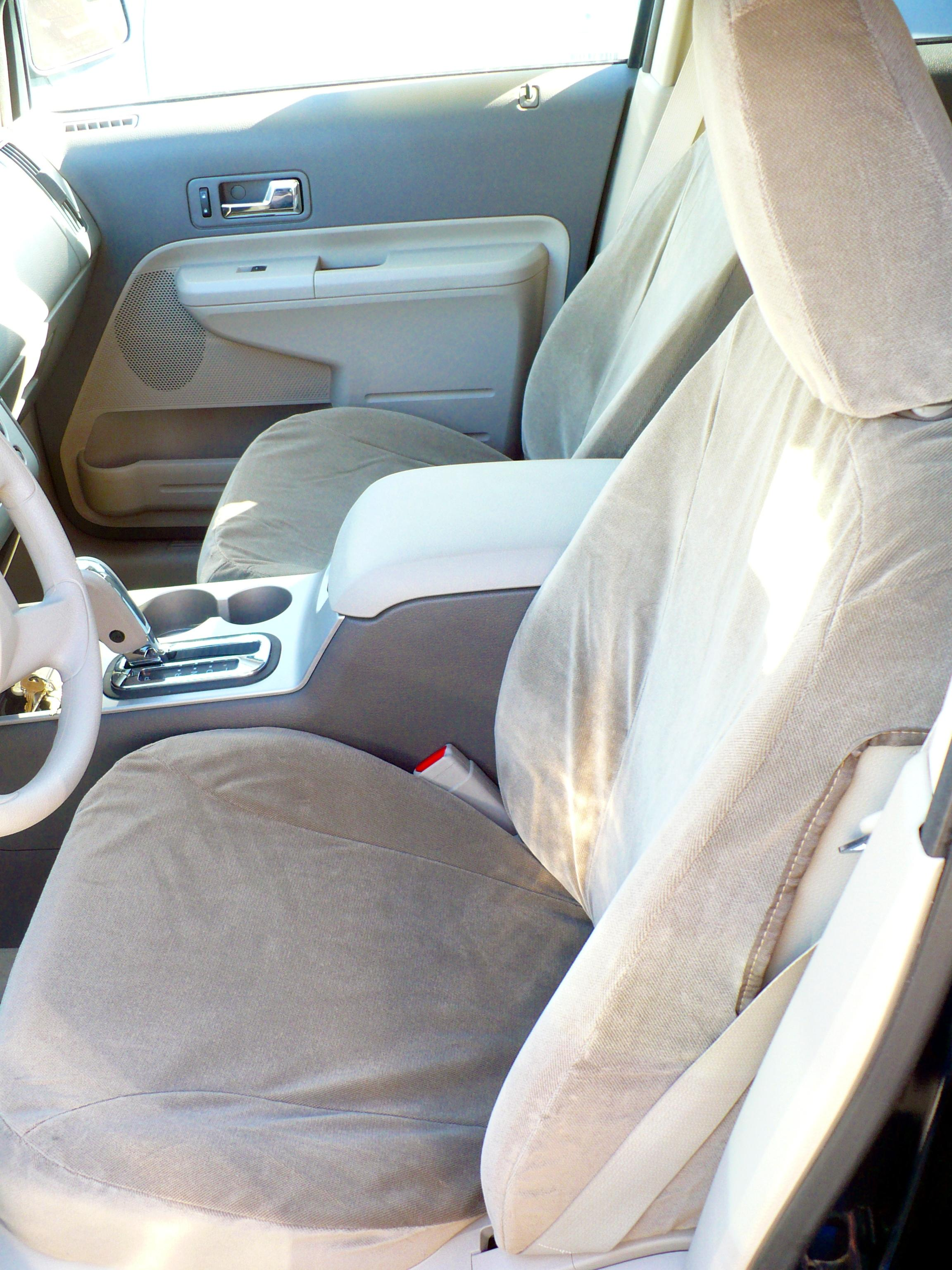 2007 2010 ford edge se and sel front bucket seats with. Black Bedroom Furniture Sets. Home Design Ideas