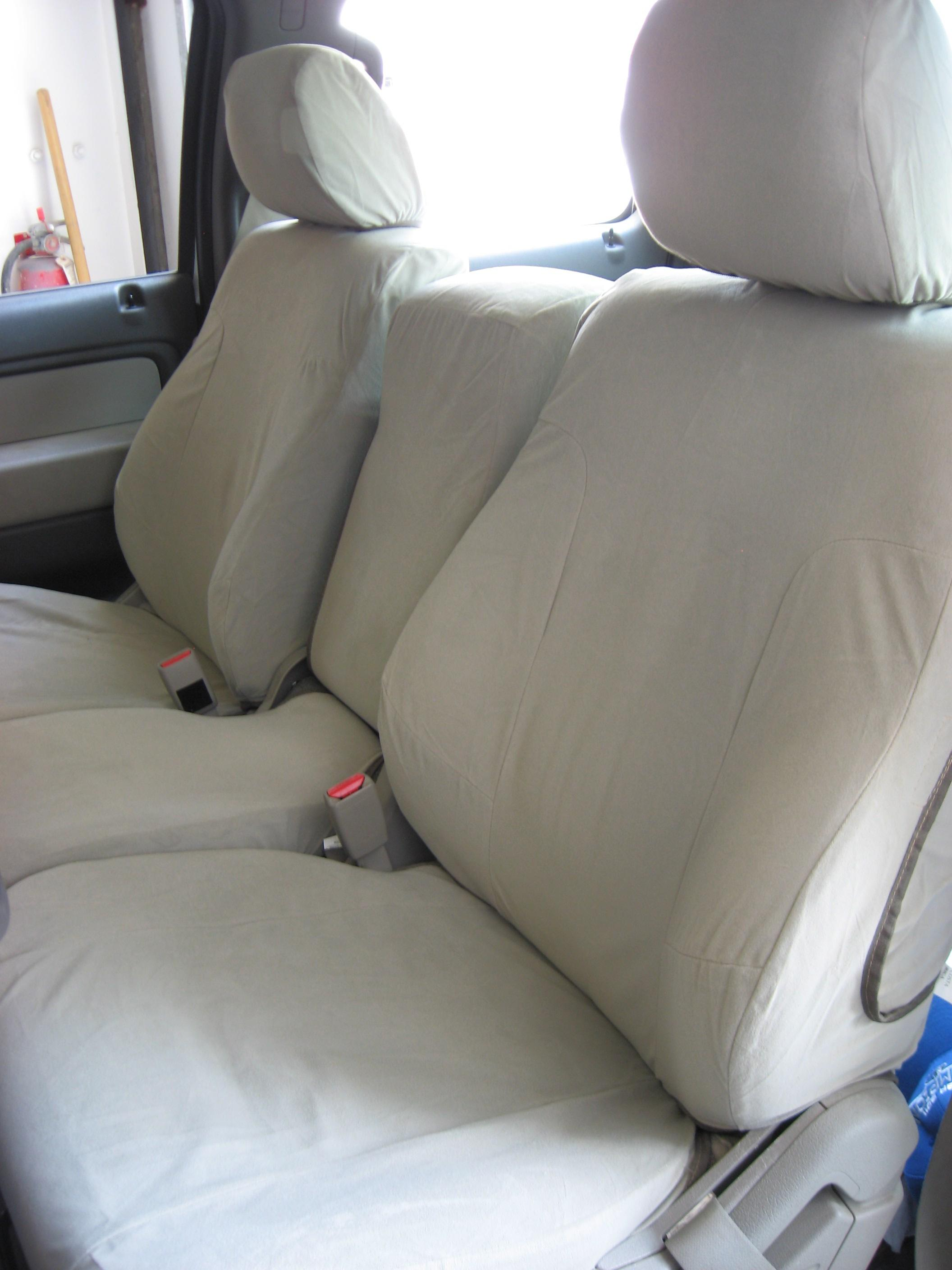 2009 2010 Ford F150 Xl And Stx 40 20 40 Split Seat With