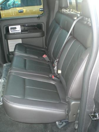 2009 Ford F150 Super Crew Front Bucket Seats And Rear 60 40 Split Back