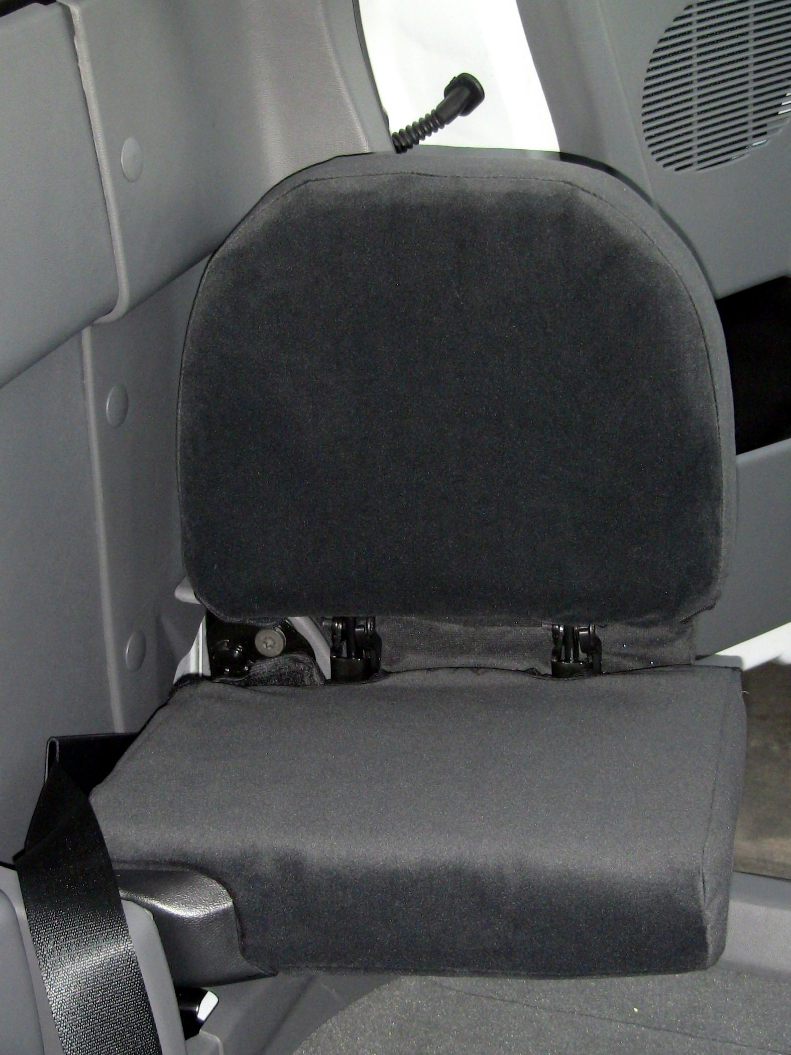 2010 2012 Ford Ranger 4 Door Rear Jump Seat Covers