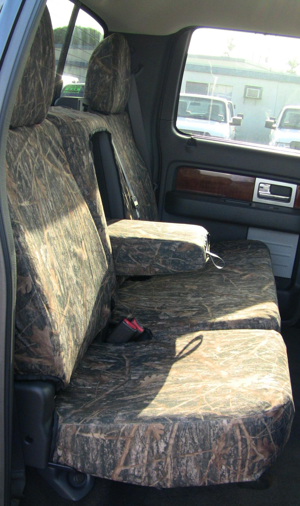 2010 Ford F150 Crew Cab Front And Back Seat Set Front 40