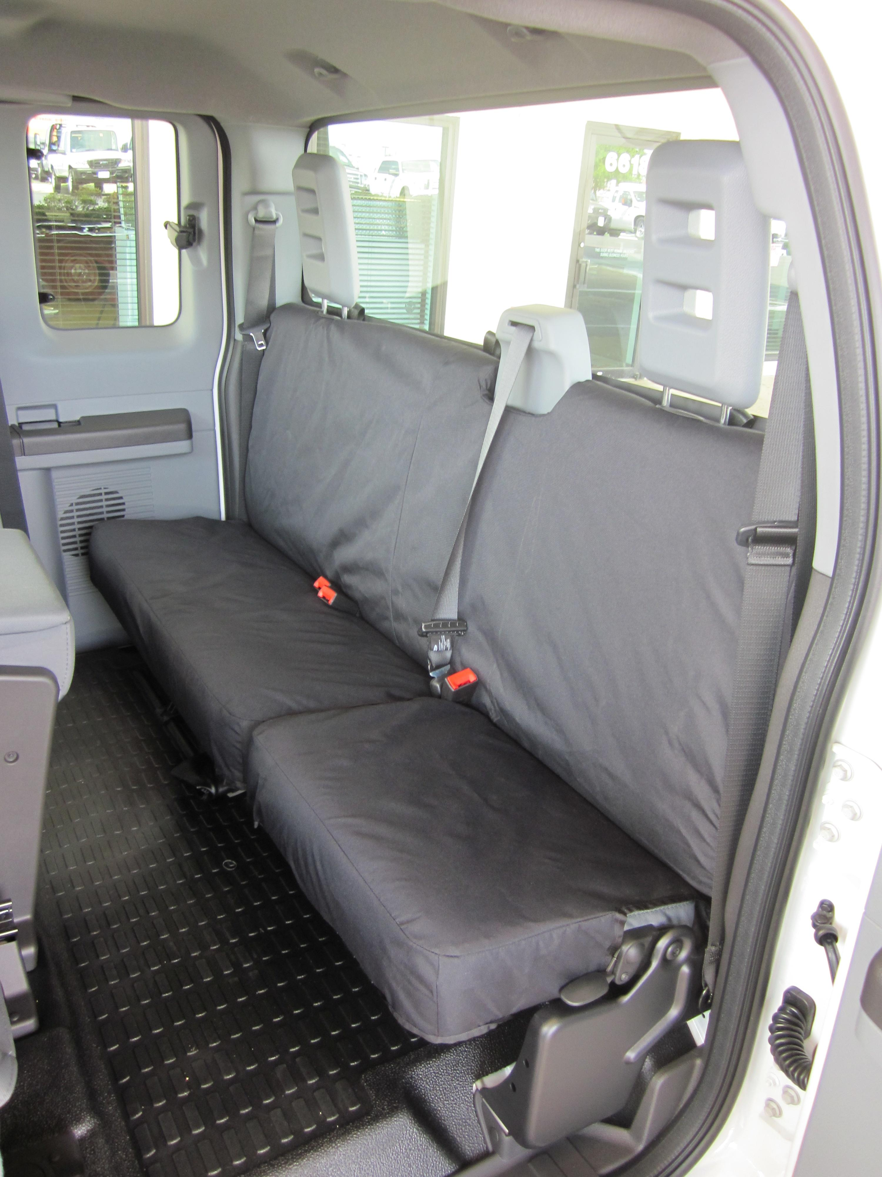 2011 2015 Ford F250 F550 Super Cab Rear Bench Seat With