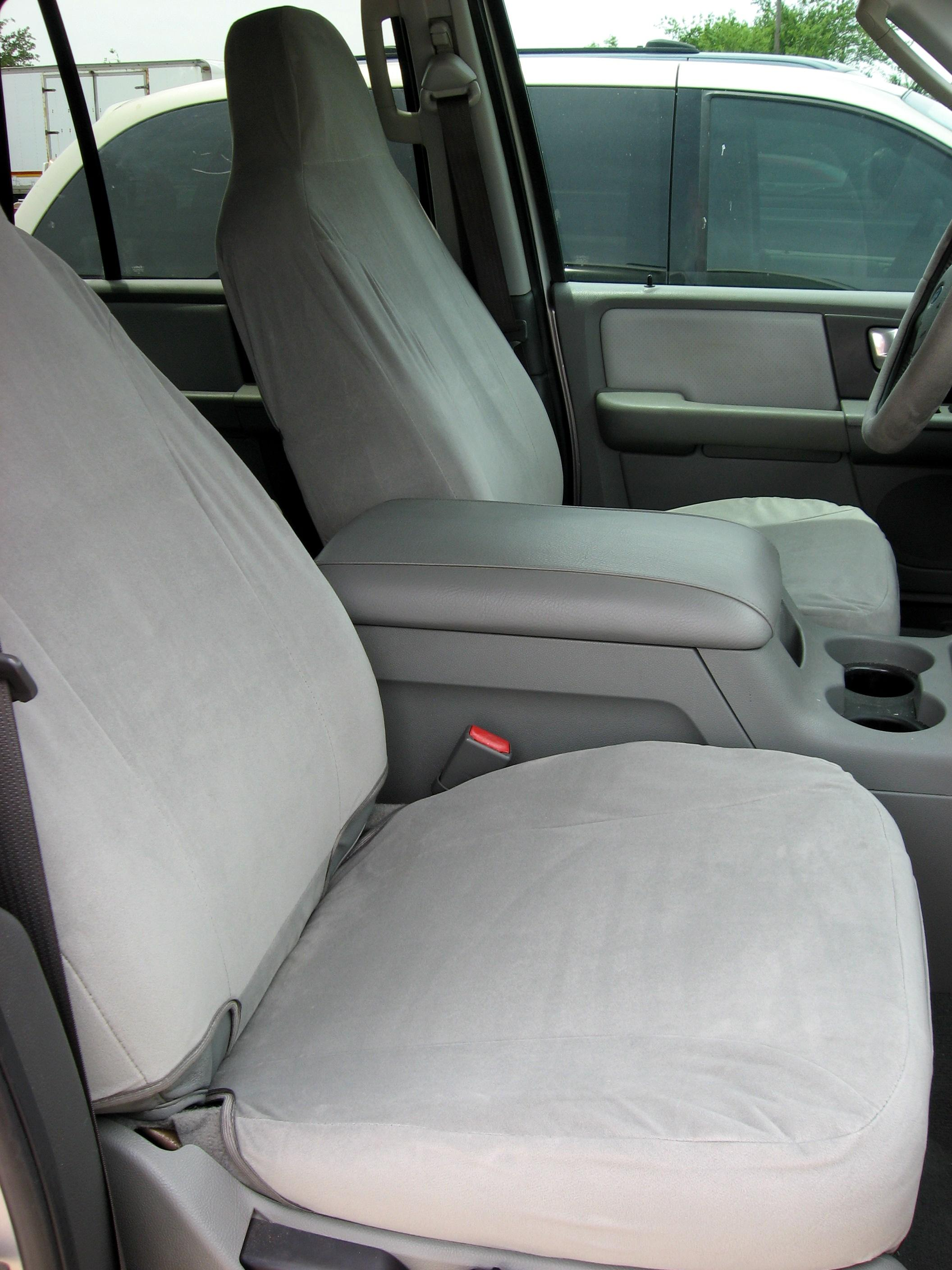 2005 Ford F150 Seat Covers >> 2003-2005 Ford Expedition High Back Bucket Seats without Airbags | Durafit Covers | Custom Fit ...