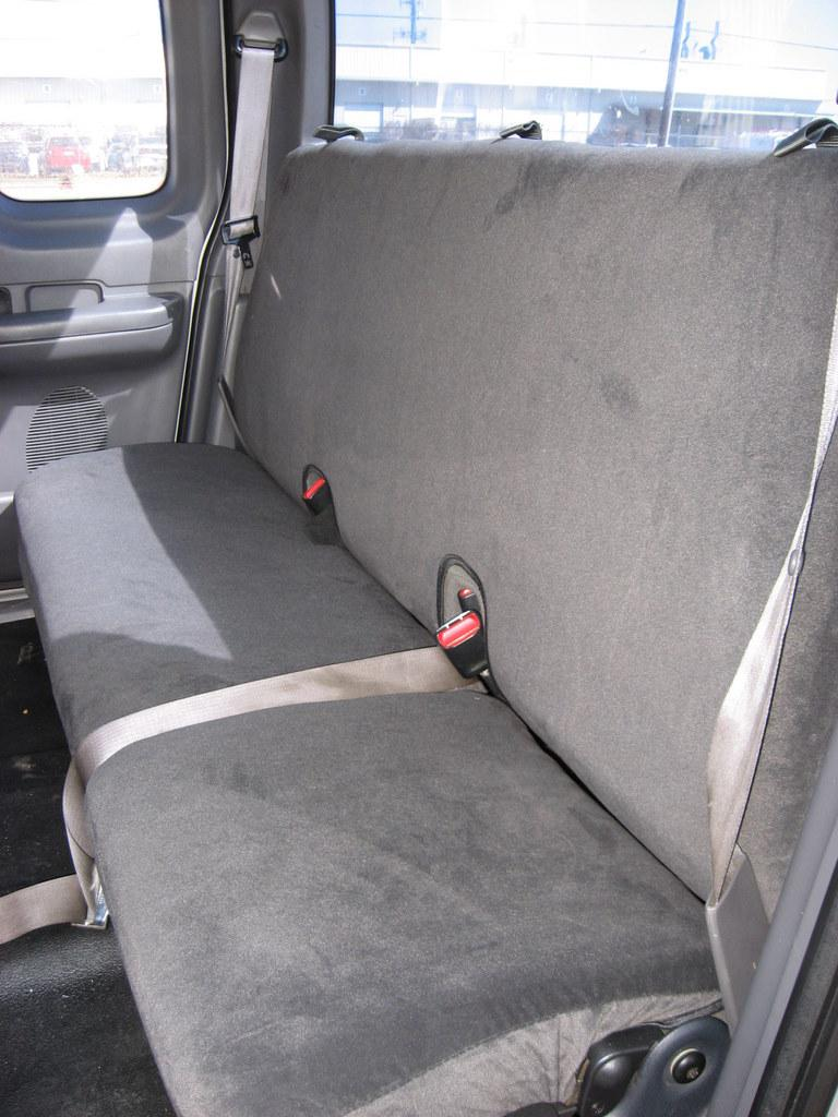 Outstanding 2001 2003 Ford F150 Xcab Rear Solid Back 40 60 Split Bottom Machost Co Dining Chair Design Ideas Machostcouk