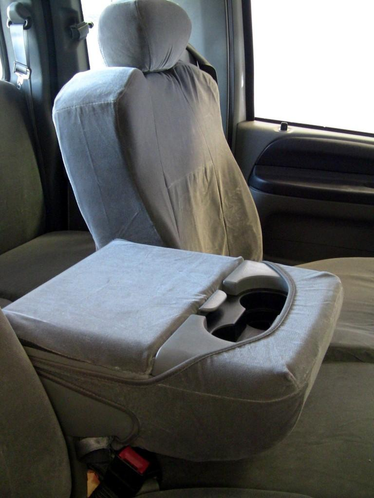 2001 2007 Ford F250 F550 Super Cab Front And Back Set Front 40 20 40 With Integrated Seat Belts