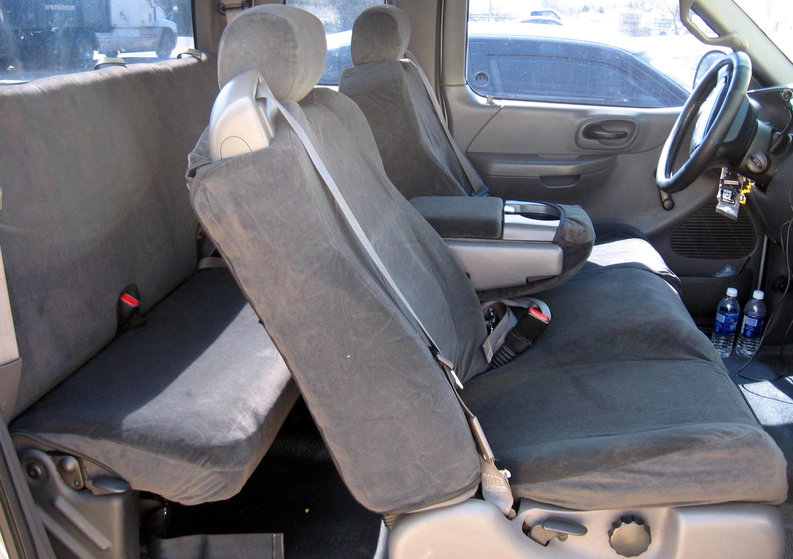 Incredible 2001 2003 Ford Truck F150 Xcab Front And Back Seat Set Machost Co Dining Chair Design Ideas Machostcouk