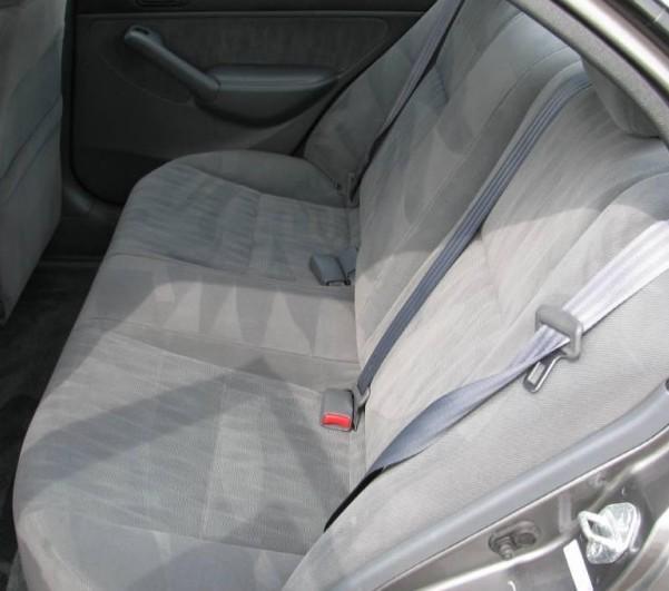 2003 2005 Honda Civic Sedan Seat Covers For Rear Solid