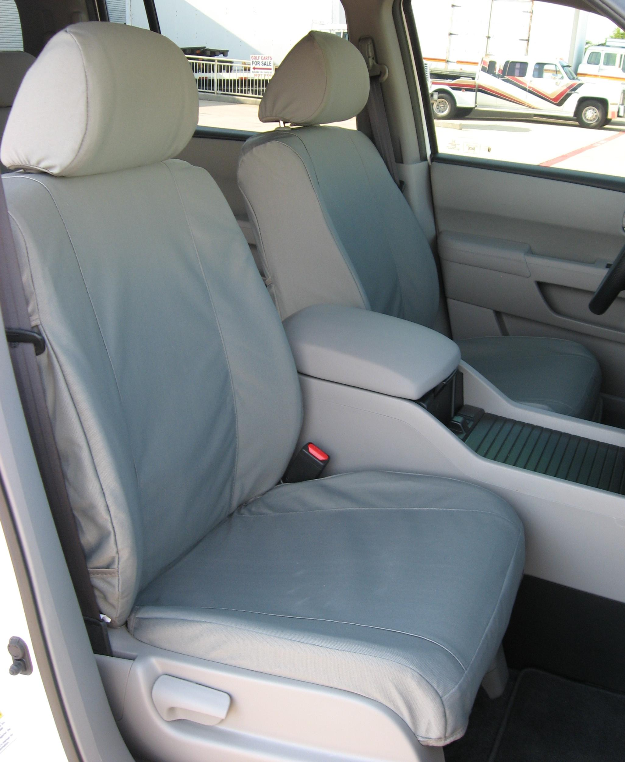 2009 2013 honda pilot front bucket seats with side impact airbags durafit covers custom fit. Black Bedroom Furniture Sets. Home Design Ideas