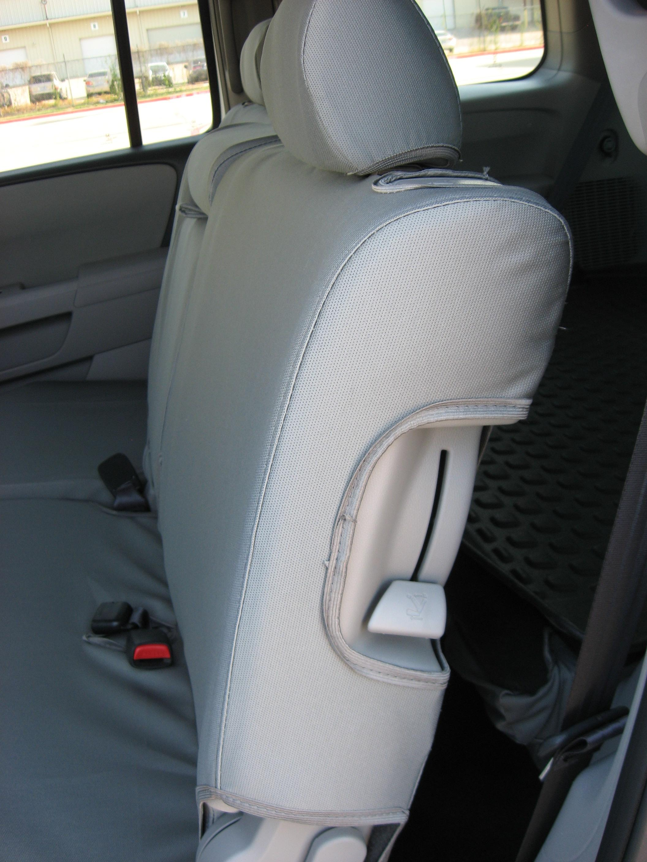 2009-2012 Honda Pilot Front Bucket Seats with Seat Airbags. Middle 60/40 with Integrated Armrest ...